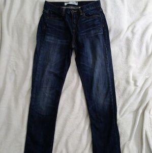 Joe Fresh Dark Wash Boyfriend Jeans